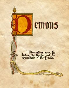 "Book of Shadows: ""Demons Entry,"" by Charmed-BOS, at deviantART. Charmed Spells, Charmed Book Of Shadows, Magic Spells, Demon Spells, Demon Book, Easy Spells, Wiccan Witch, Wicca Witchcraft, Magick"
