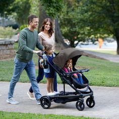 Graco Uno2Duo Double Stroller - Oakley : Target Cute Baby Strollers, Double Strollers, Black And Grey, Gray, Oakley, Cute Babies, Children, Target, Products