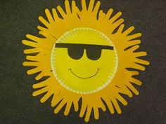 Sunshine Craft we did in our classroom ~ Sherry Melissa