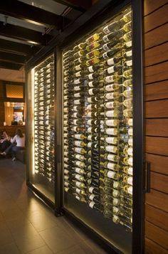 Wine Wall With Custom Magnum Shelf Duvino Wine Www