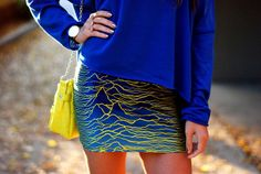 Love the wave skirt.