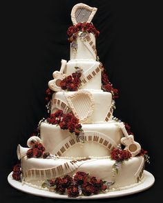 This could have quite possibly been Mozart's wedding cake!