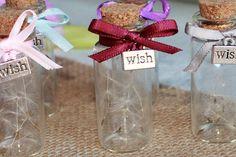 Wedding Favours UK   High Quality Dandelion Glass by GlowingDeco