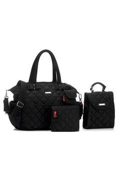 Storksak 'Bobby' Four Piece Diaper Bag available at #Nordstrom Such a cute set want this for next baby