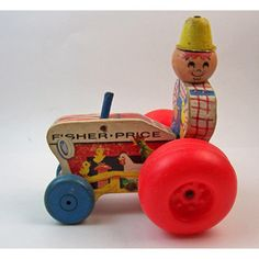 Fisher Price Tractor Pull Toy