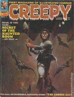Creepy #38 - Cover by Ken Kelly