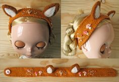 fox ears by merwing✿little dear, via Flickr