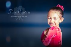 A little figure skater in the making. Her smile is contagious ;)