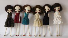 Evangelione dolls. So fashionable. They do some amazing art around the dolls, too.