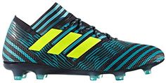 adidas NEMEZIZ 17.1 FG Soccer Cleats  Turquoise, Black