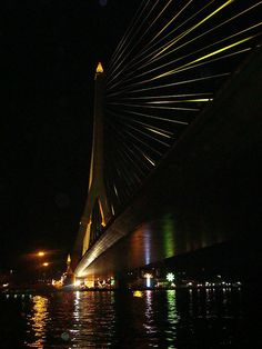 Bangkok, Thailand - Rama VIII Bridge