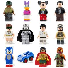 Some of the new minifigures just added. Includes an awesome chrome Vader and a super rare official LEGO Ronaldo www.firestartoys.com #lego #minifigures #legocustom #moc #legomoc #legominifigure #minifig #minifigs #AFOL #firestarlego #starwarslego #legostarwars