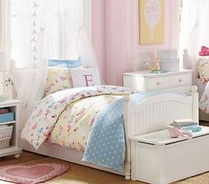 Catalina Canopy Bed | Pottery Barn Kids Australia | Girls Bedrooms ...