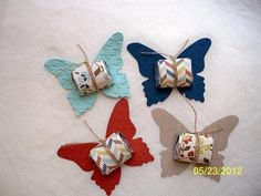 Hershey Nugget Butterflies by D. Daisy - Cards and Paper Crafts at Splitcoaststampers