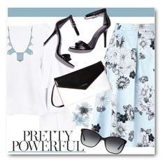 """Pretty Powerful!"" by brendariley-1 ❤ liked on Polyvore featuring Miss Selfridge, Lodis, House of Harlow 1960 and Bulgari"