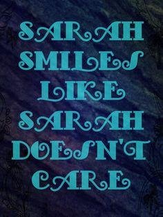 An Original Design~ me (Maya)  Lyric: Sarah Smiles~ Panic! At the Disco