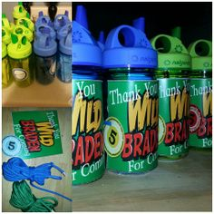 Nalgenes wild kratts party favors