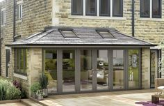 Tiled roof extensions modern
