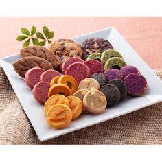紫芋、カボチャなど11種類を贅沢に。【秋のクッキー詰合せ】