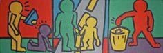5th grade lesson plan keith haring    Digication e-Portfolio :: Aren Ehman: Art Educator :: Helpful Gestures