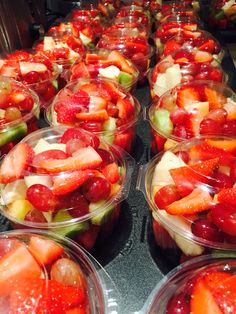 Fruit salad bowls for function