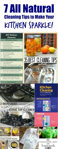 7 All Natural Cleaning Tips to Make Your Kitchen Sparkle