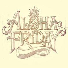 matthewtapia:  Happy Aloha Friday! A sketch I did a few months...