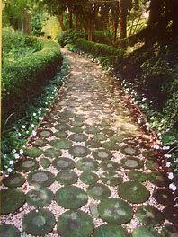 Image result for Mosaic Path Stepping Stone Walkways, Gravel Walkway, Mosaic Walkway, Garden Paths, Garden Art, Garden Landscaping, Garden Bird Feeders, Path Ideas, Outdoor Areas
