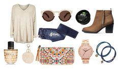 """""""Meet me for lunch"""" by jennathompson504 on Polyvore featuring Illesteva, Nixon, Billabong, River Island, H&M, Marni, Lucky Brand, women's clothing, women and female"""