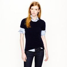 Collection cashmere tee - Cashmere Shop - Women's Women_Shop_By_Category - J.Crew