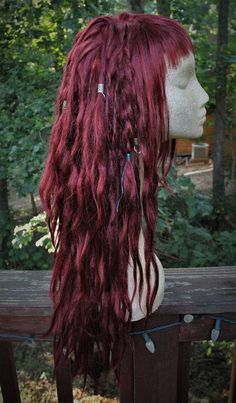Dread Hairstyles, Pretty Hairstyles, Dreadlock Wig, Dreadlocks, Hair Inspo, Hair Inspiration, Pretty Hair Color, Hair Reference, Dye My Hair