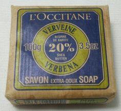 L'OCCITANE ~ 3.5 OZ CAKE OF VERBENA EXTRA GENTLE SOAP WITH SHEA BUTTER FRANCE #lOccitane