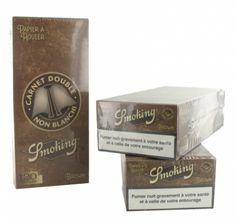 Papier à rouler Smoking Brown Régular x 25 PACK de 3