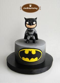 funko pop batman simple cake - Cake by Mnhammy by Sofia Salvador