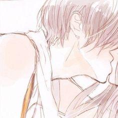 Anime Cupples, Anime Chibi, Kawaii Anime, Girls Anime, Anime Art Girl, Anime Guys, Best Anime Drawings, Anime Couples Drawings, Anime Love Couple