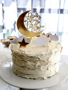 16th Birthday, 1st Birthday Parties, Birthday Party Decorations, Cake Designs Images, Twins 1st Birthdays, Big Little, Dream Big, Space, Desserts