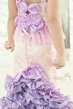 introductory sale-TRITON'S TREASURE MERMAID Costume-Dress Up, Portraits, Birthday, Pageant, Halloween-Little Girls (sizes 2-8). via Etsy.