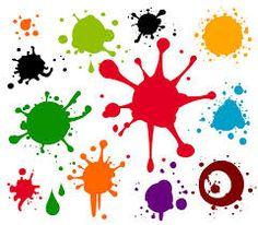 Resultado de imagen de dibujos de manchas de pintura
