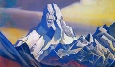 """Ice Sphinx II By Russian painter, Nicholas Roerich. Part of his extensive """"Asian Expedition"""" series, that started in the and is said to have inspired the 1931 H. Lovecraft story, At the Mountains of Madness. Kandinsky, Gallery Of Modern Art, Art Gallery, Nicholas Roerich, Mountains Of Madness, Call Of Cthulhu, Jurassic Park World, Long Shot, Sword And Sorcery"""