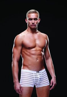 Microfiber Trunks Briefs from Envy Menswear Collection. Low riding briefs. Men sizes medium to large. Color: White. Fabric composition: 95% Nylon, 5% Spandex. Washing instructions: hand wash cold. Do not bleach. Line dry. Do not iron. Do not dry clean.