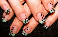 SEXY Hand-painted Leopard! <3