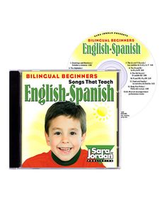 Look what I found on #zulily! Bilingual Beginners: English-Spanish CD by Sara Jordan Publishing #zulilyfinds