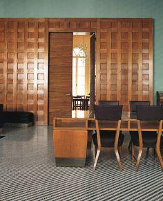 Gio Ponti designed reading room at the Padua University: WOI Nov 2011