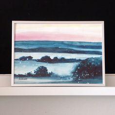 ranní mlha vLíšnici | Ateliér B. KIOW Painting, Art, Art Background, Painting Art, Kunst, Paintings, Performing Arts, Painted Canvas, Drawings