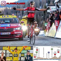 "📷 : ASO / Kare Dehlie Thorstad  Paris-Nice 2017 (World Tour)  7th stage :  1. Richie Porte (BMC Racing Team) the 177km in 5:01'35""  2. Alberto Contador (Trek-Segafredo) at 21″  3. Daniel Martin (Quick-Step Floors) at 32″  4. Sergio Henao (Team Sky) s.t.  5. Ion Izagirre (Barhain-Merida) at 55″  6. Jakob Fuglsang (Astana) at 1'07  7. Pierre Latour (Ag2r – La Mondiale) at 1'11""  8. Ilnur Zakarin (Katusha-Alpecin) à 1'21""  9. Marc Soler (Movistar) s.t.  10. Gorka Izagirre (Movistar) s.t.  ."