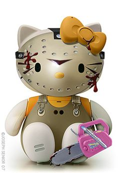 Friday The 13th. This makes Jason look cute.  Lol.