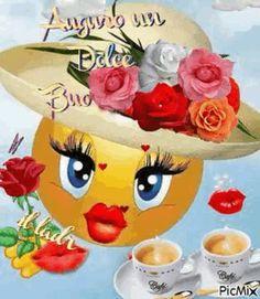 Buongiorno GIF animate Pinterest 75 Picmix Gif, Good Morning Love, Betty Boop, Beautiful Roses, Pikachu, Disney Characters, Illustration, Barbarella, Marcel