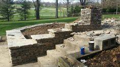 Stone / rock landscaping.  BTC DRYSTONE  btcdrystone@gmail.com