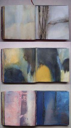 Travail de matière et de couleur par Élisabeth Couloigner
