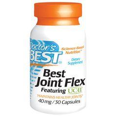 จำหน่าย ซื้อ ขาย อาหารเสริม คอลลาเจน collagen ราคาส่ง ยี่ห้อ Doctor's Best, Best Joint Flex, Featuring UC·ll, 40 mg, 30 Capsules